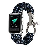 BUY-TO Bracelet de Sport en Plein air Nylon Convient pour Apple Watches Iwhtch Série...