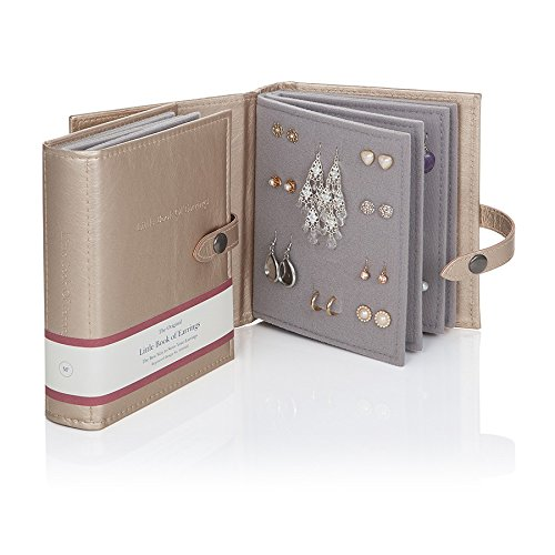 Little Book of Earrings Storage - Gold by Little Book of Earrings