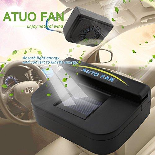 New Auto Cool Solar Powered Ventilation Fan