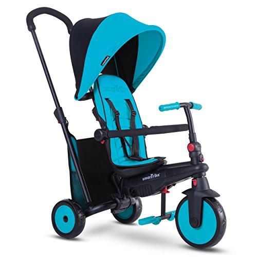 Smartrike - 5021800 - Tricycle évolutif Pliant smarTfold 300 Plus - Bleu