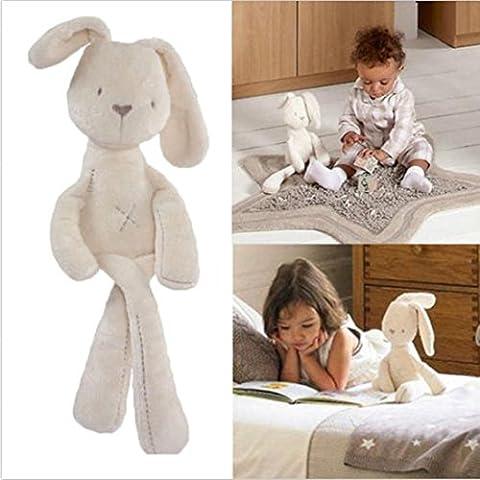 VWH Rabbit Bunny Sleeping Comfort Stuffed Soft Plush Dolls Toy Baby Girls Gifts