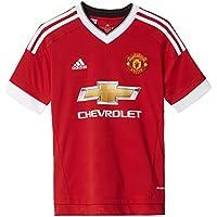 adidas Children's Manchester Home Football Shirt Replica