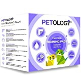 100 x Super Absorbent Dog Puppy Training Pads with Odour Control and 5 Layer Super Absorbent Moisture Locking In Technology