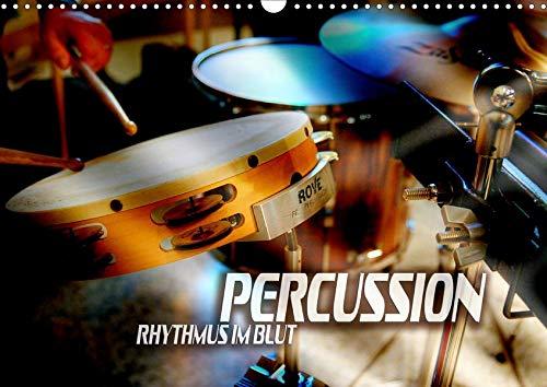 Percussion - Rhythmus im Blut (Wandkalender 2019 DIN A3 quer): Atmosphärische Bilder verschiedener Rhythmus-, Effekt- und Schlaginstrumente (Monatskalender, 14 Seiten ) (CALVENDO Kunst)