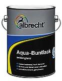 Albrecht Aqua-Buntlack seidenglanz 750 ml, weiß, 3400505950901000750