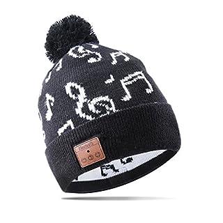 AIKER Bluetooth Hat Sport Hat Hands-free Wireless Speaker cap for Winter Sports Gym Exercise