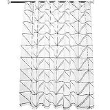 LFF- PEVA Bad Wasserdicht Gepolsterte Duschvorhang Umweltschutz Mehltau Geruchsfreie Partition Vorhanggitter Duschvorhänge (Größe : 240X180cm)
