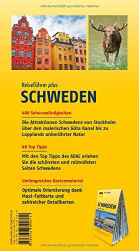 ADAC Reiseführer plus Schweden: mit Maxi-Faltkarte zum Herausnehmen: Alle Infos bei Amazon