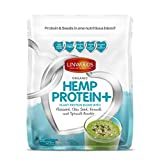 Organic Hemp Protein+ with Flaxseed, Chia Seed, Broccoli & Spinach Powder by Linwoods