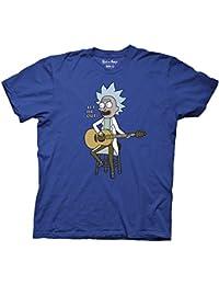 Men's - Rick And Morty- Tiny Rick Song - T-Shirt