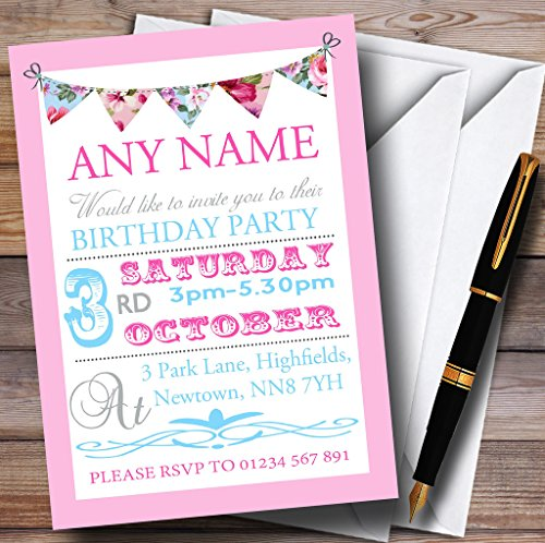Personalised Party Invitations Amazoncouk – Personalised Party Invites