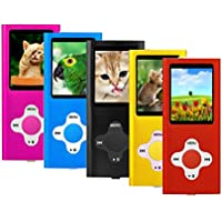 MP3 Player Music Media ES Traders® 8GB With Radio, Voice Recorder, Games 4th Generation