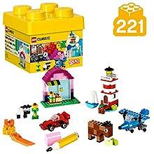 LEGO Classic - Scatola Mattoncini Creativi, Piccola, 221 Pezzi, 10692