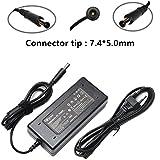 Chargeur d'ordinateur portable de corde d'alimentation d'adaptateur de 90W AC pour HP Pavilion Dv6 Dv6 Dv7 G50 G60 G60T G61 G62...