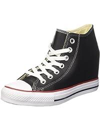 ac25184d3ba0b Converse Personalizzate All Star Alta NERA - scarpe artigianali - stampa  FIORI PRIMAVERA · EUR 119