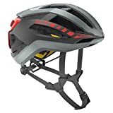 Scott Casco Centric Plus (CE) Grey/Red, M (55-59 cm)