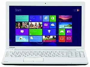 """Toshiba Satellite C55-A-1RL Ordinateur Portable 15.6 """" 1000 Go Windows 8.1 Blanc"""