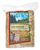 Heu-Heinrich® 1kg Bio - Stroh - weiches Einstreu für Ihr Heimtier
