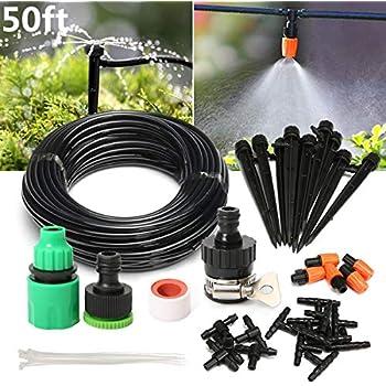 Sonnig Diy 40m Automatisch Bewässerungssystem Micro Drip Bewässerung Gartenpflanze De Bewässerungshilfen Garten & Terrasse