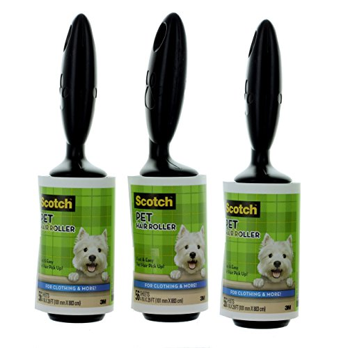 3m-scotch-brite-lint-roller-remove-lint-dog-hairs-etc-56-sheets-each-pack-of-3