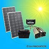 Komplette 220V Solaranlage TÜV Qualitäts-