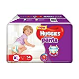 #10: Huggies Wonder Pants Extra Large Size Diapers (54 Count)