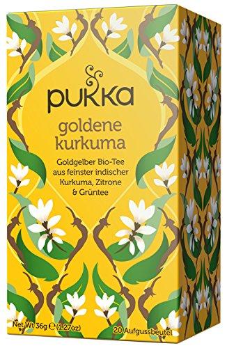 Pukka tè-Goldene Curcuma 20bustine