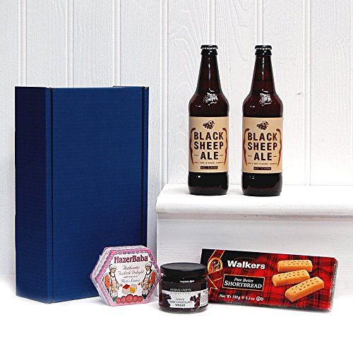 Black Sheep Ale Dunkin Delights Gift Hamper in Blue Gift Box Gift ideas for - Fathers Day,Valentines,Presents,Birthday,Men,Him,Dad,Her,Mum,Thank you,Wedding Anniversary,Engagement,18th,21st,30th,40th,50th,60th,70th,80th,90th