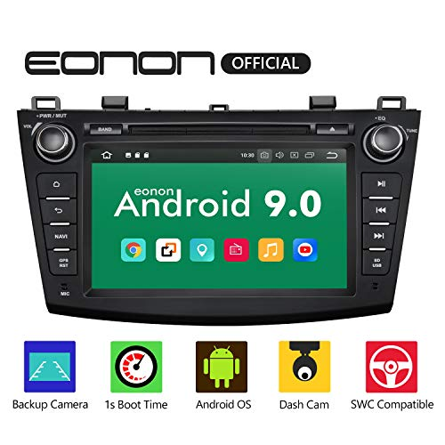 eonon GA9363 Android 9 Fit Mazda 3 2010 2011 Quad 2013 Inquad Auto Digital Audio Audio Stereo 8-Zoll-Touchscreen GPS Navi DVD FM AM RDS USB Bluetooth DAB + OBD2 WiFi-Headunit