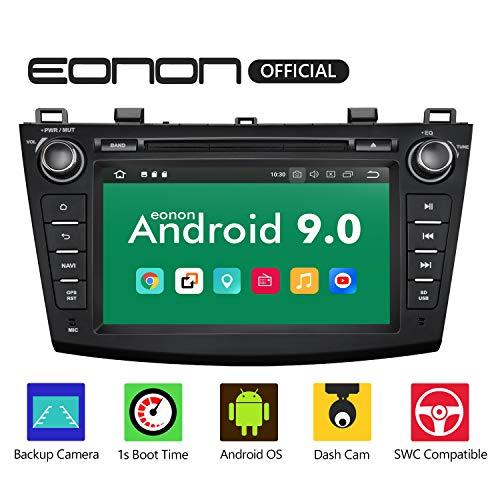 eonon GA9363 Android 9 Fit Mazda 3 2010 2011 Quad 2013 Inquad Auto Digital Audio Audio Stereo 8-Zoll-Touchscreen GPS Navi DVD FM AM RDS USB Bluetooth DAB + OBD2 WiFi-Headunit -