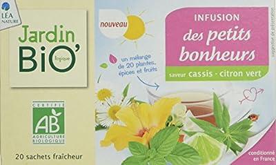 Jardin Bio l'Infusion des Petits Bonheurs 30 g - Lot de 4