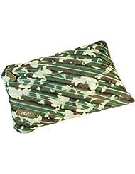 Wedo 2426165904Jumbo Trousse d'écolier en polyester fermeture éclair, 23x 2x 15cm, vert camouflage