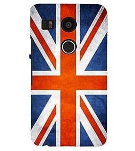 PRINTSHOPPII FLAG ENGLAND Back Case Cover for LG Google Nexus 5X::LG Google Nexus 5X (2nd Gen)::Google Nexus 5X::Nexus 5X (2015)