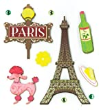K&Company Paris Pleasures Grand Adhesions Stickers