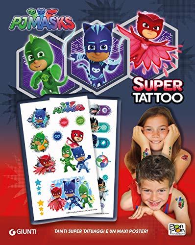 Super tattoo. pj masks. ediz. a colori