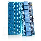 Neuftech 8-CH 5V 8-Kanäle Relais Modul-Brett für Arduino PIC DSP AVR ARM Relais Modul