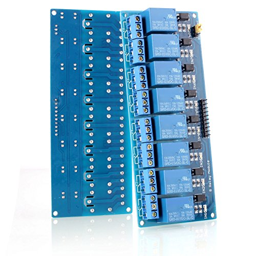 Neuftech 8-CH 5V 8-Kanäle Relais Modul-Brett für Arduino PIC DSP AVR ARM Relais Modul (Arm-brett)