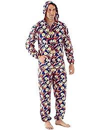Harvey James - Pijama de una pieza - Manga Larga - para hombre
