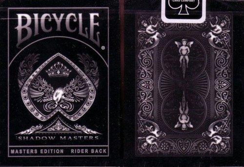 """Preisvergleich Produktbild Bicycle Playing Cards """"Shadow Masters"""" im wunderschönen Design inkl. 1 Gaff Card!"""