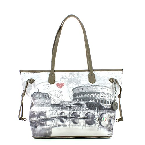 Borsa Shopping grande Y Not - G319 Love Letter