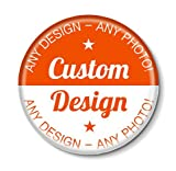 Personalised Custom Design Pin Badge - 50mm