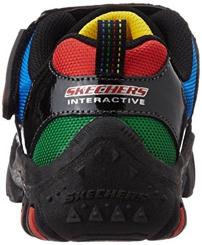 Skechers Nitrate - Brio, Chaussures de sport garçon Schwarz