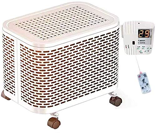 SSCEEL Calentadores eléctricos portátiles, diseño de calefacción de 5 Lados, Temporizador Incorporado...