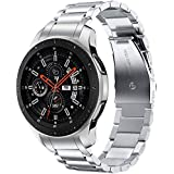 Metal Stainless Steel Strap Band for Samsung Galaxy Watch 46mm / Huawei GT2 / Gear S3 Frontier and Classic / Honor Magic 2 /