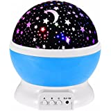 Tuelip Star Master Dream Rotating Color Changing Projection Lamp Blue