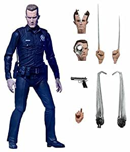 """Terminator 2 - 7"""" Action Figure - Ultimate T-1000 by NECA"""