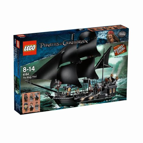 flying dutchman lego LEGO Pirates of the Caribbean 4184 - Black Pearl
