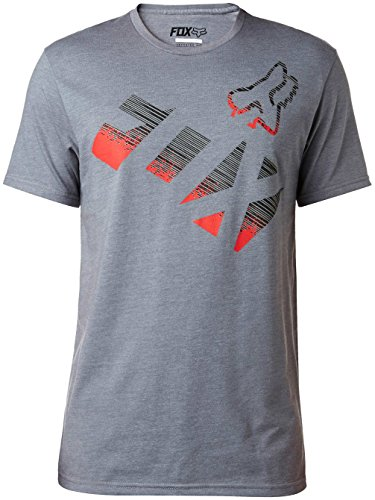 Fox T-Shirt Chemical Heather Graphite Grau