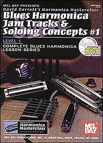 Blues Harmonica Jam Tracks & Soloing Concepts #1 (David Barrett's Complete Harmonica Masterclass Lesson)