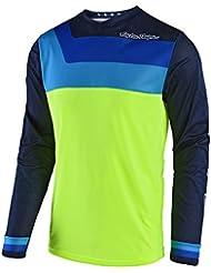 Camiseta De Mx Niño Troy Lee Designs 2018 Gp Air Prisma Fluorescent (M Niño , Amarillo)